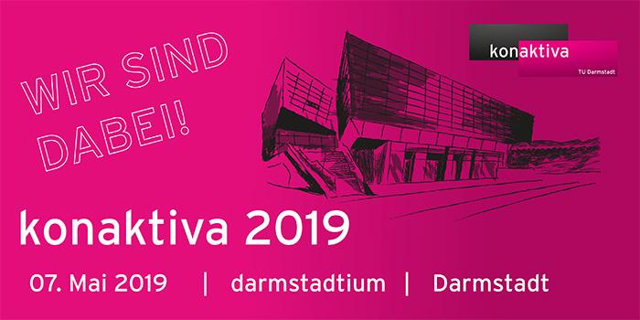 Recruitingmesse konaktiva an der TU Darmstadt