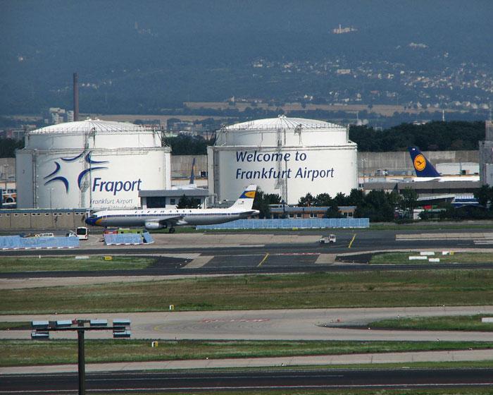 Leitsystem für die Treibstoffversorgung von Flugzeugen am Flughafen Frankfurt (Hydrantenbetriebsgesellschaft)