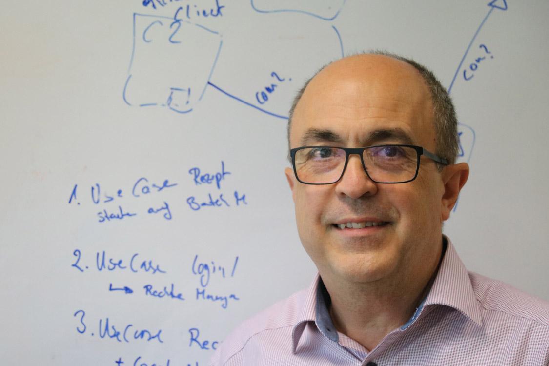 Zvezdan Nichici, Senior Software Architect für Systemtechnik