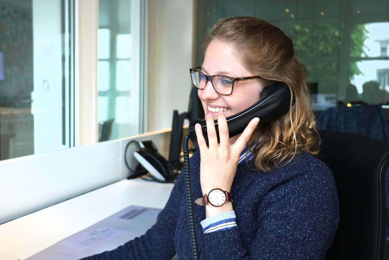 Melanie Ott, Auszubildende zur Industriekauffrau bei der Eckelmann AG