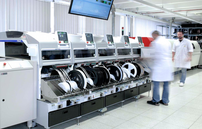 Blick in die Produktion
