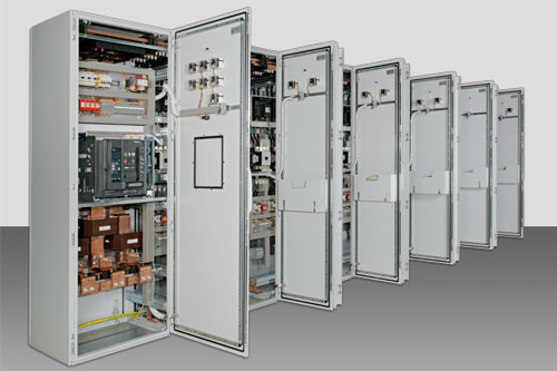 Switch cabinet - main supply