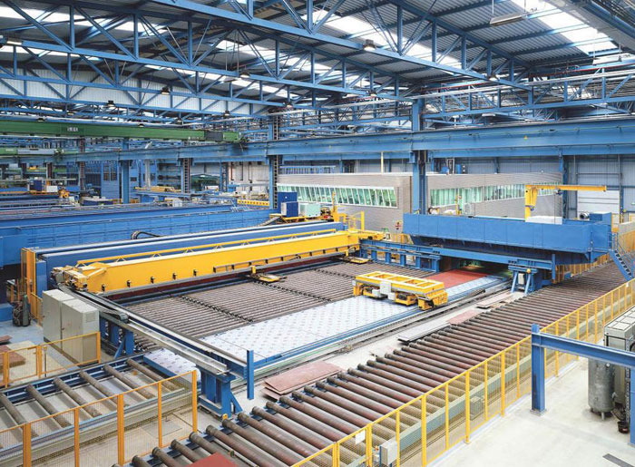 Prefabrication in shipbuilding
