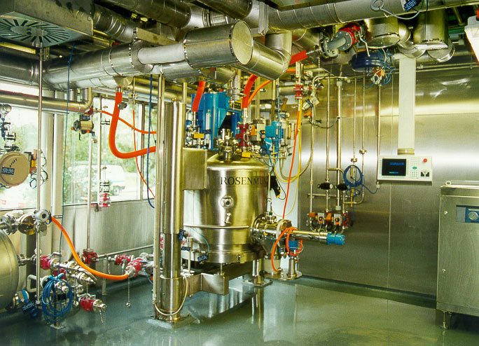 Process engineering facility