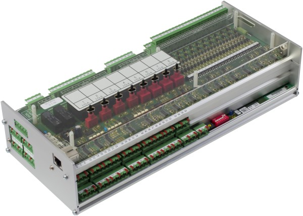 The GLT 3010 is a universal automation module for applications in building management systems