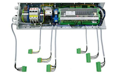 Elektrozubehör mit Kühlstellenregler