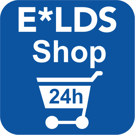 Logo E*LDS Shop