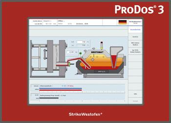 Steuerung Dosierofen für den Aluminiumdruckguss