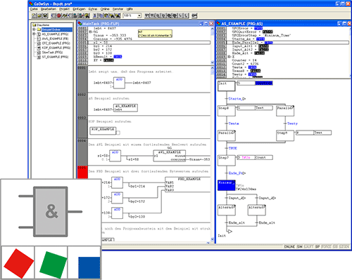 PLC programming with E°Tools PLC