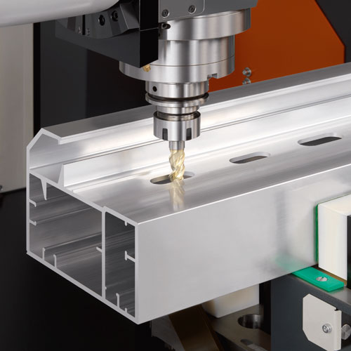 Drilling spindles as in this rod machining centre are a potential application area for safe standstill monitors.