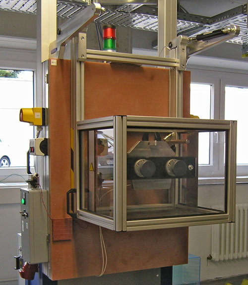 Test rig for electromagnetic brakes
