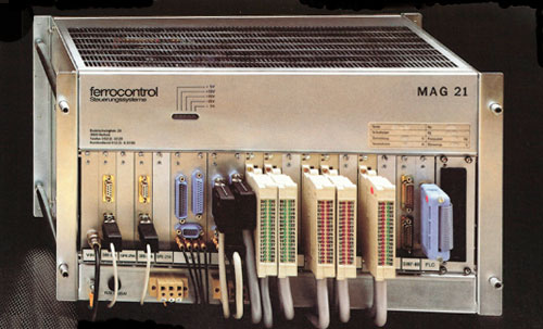 An MAG21 from the MAG 10-42 series of modular automation devices.