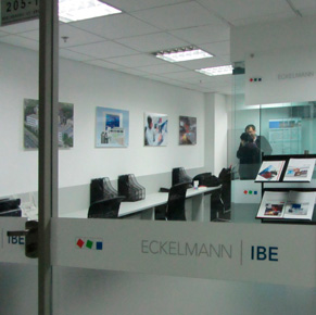 Büros der Eckelmann Industrial Automation Technologies in China