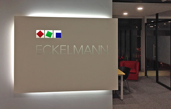 Entrance Eckelmann Automation Technologies in Shanghai
